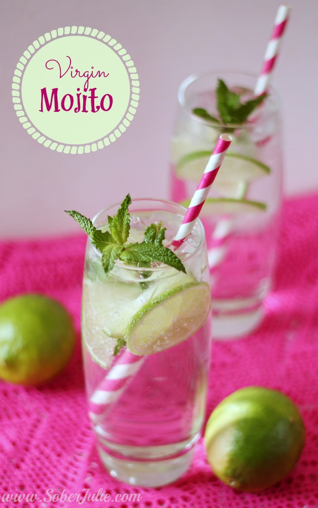 A simple virgin mojito recipe. A non-alcoholic drink everyone enjoys!