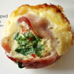 Bacon Wrapped Omelette – a muffin pan recipe