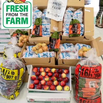 A Fresh Way to Fundraise for Your School with Fresh from the Farm