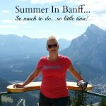 summer in banff slider