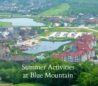Summer Activites at Blue Mountain