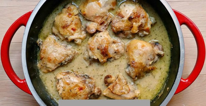 One-Pan Chicken with Gravy Recipe