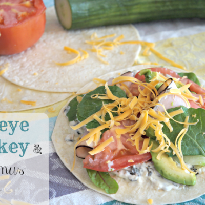 Popeye Turkey and Hummus Wrap #FreshBTS