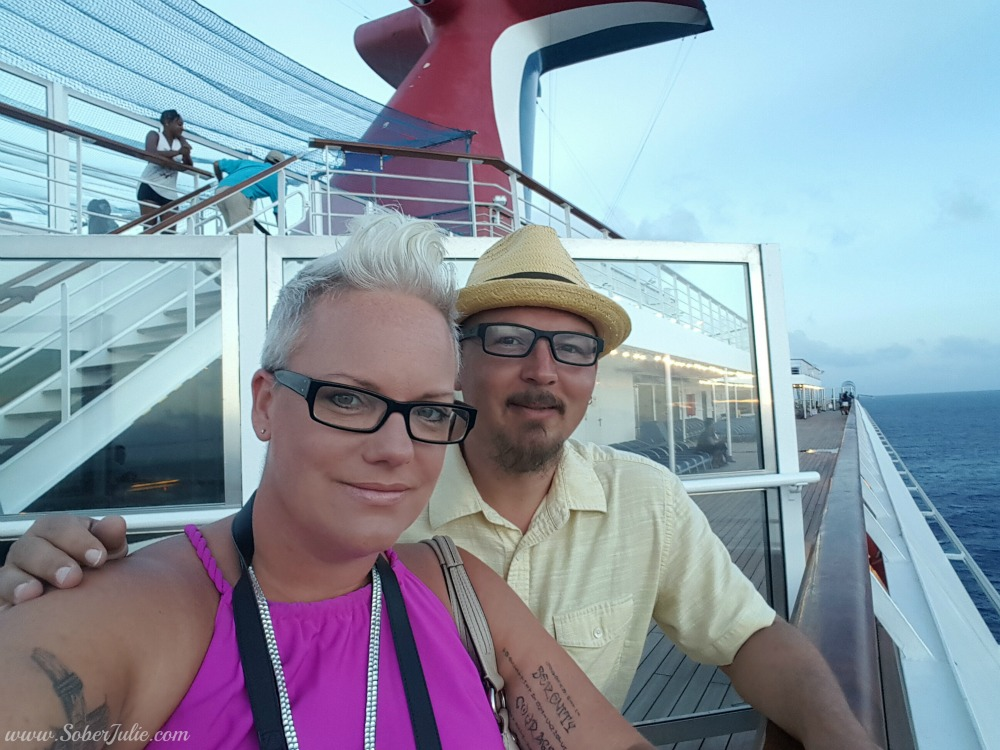 carnival cruise with friends soberjulie