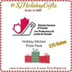 Holiday Chicken Appetizers from Chicken Farmers of Canada & Giveaway #SJHolidayGifts