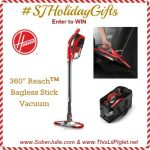 Hoover for the Holidays and a GIVEAWAY #SJHolidayGifts