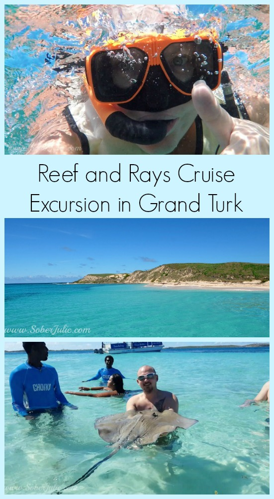 Reef and Rays Cruise Excursion in Grand Turk SoberJulie