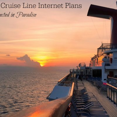 Carnival Cruise Line Internet Plans