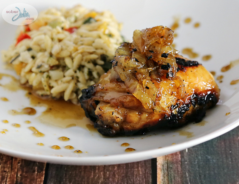 maple chicken caramelized onion recipe soberjulie