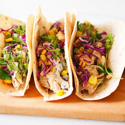 Slow Cooker Cheesy Tacos Recipe