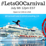 #LetsGOCarnival Twitter Party