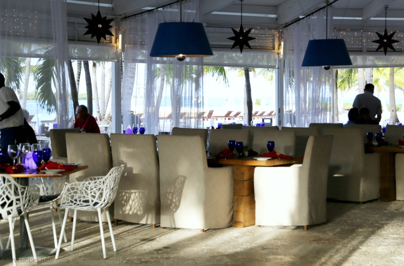 blue have turks and caicos restaurant fire and ice