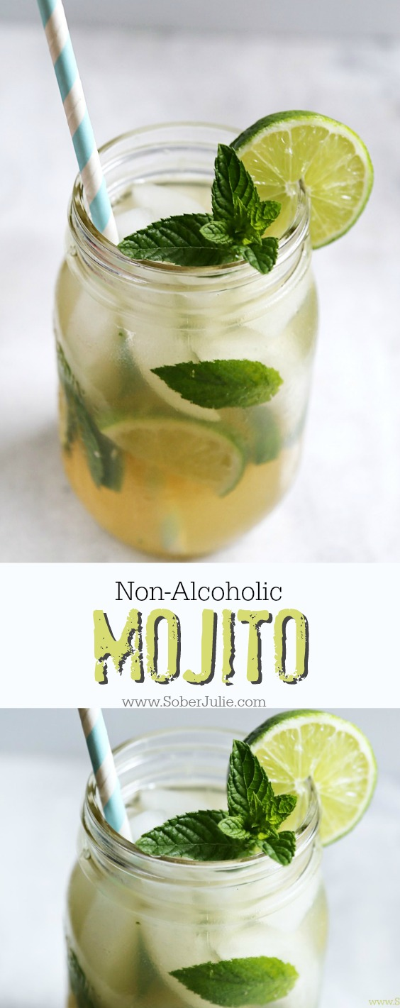 non alcoholic mojito drink recipe