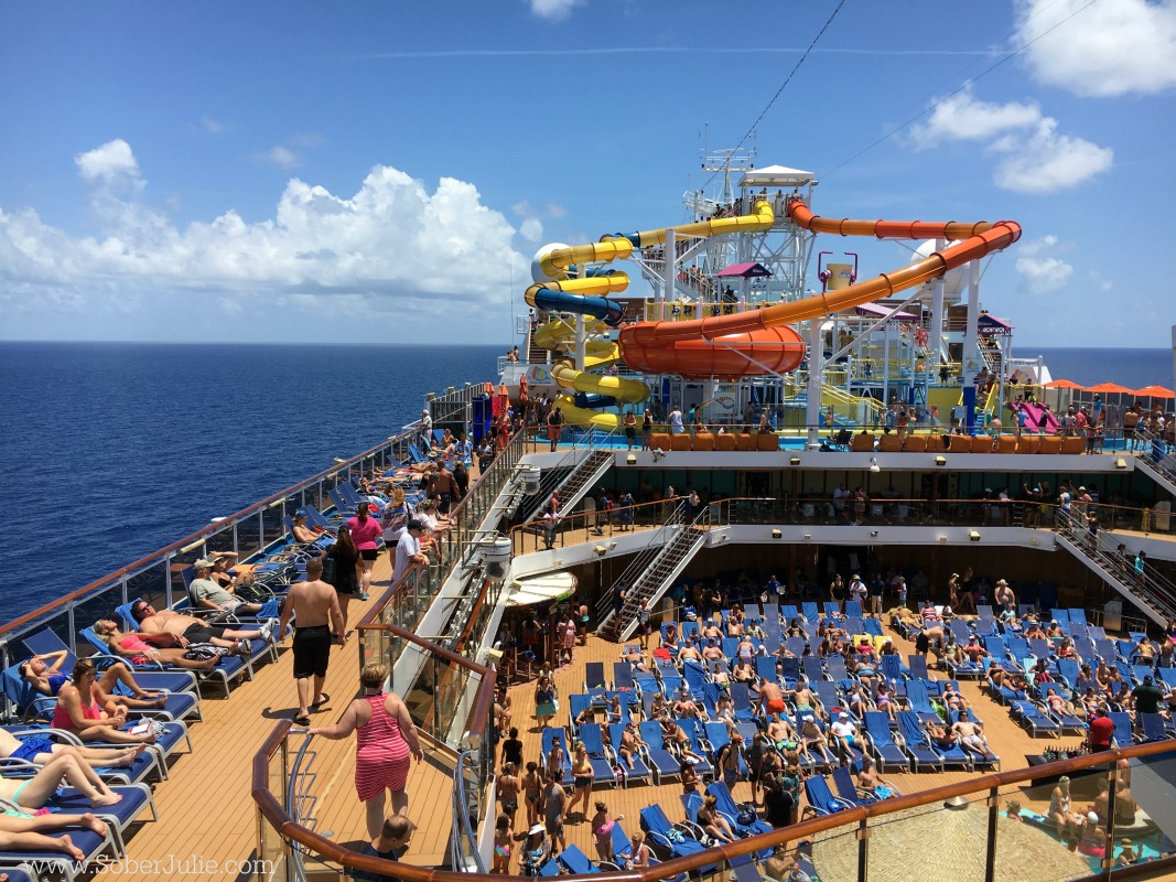 carnival cruise line waterworks