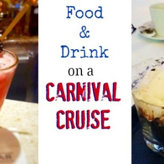food and drink carnival cruise slider