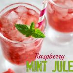 raspberry mint julep non alcoholic drink slider