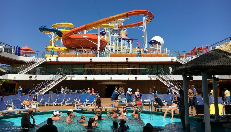 carnival cruise magic pool lido deck