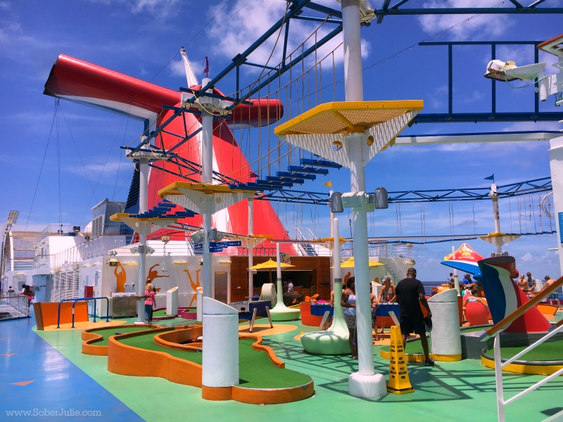 carnival magic sportsquare ropes