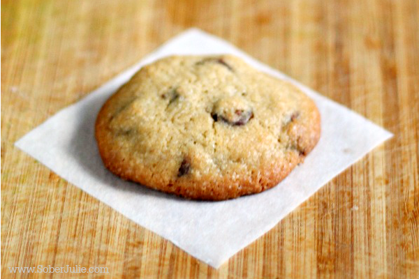 soft chocolate chip cookie recipe close