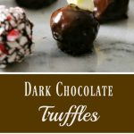 Dark Chocolate Truffles Recipe – Too Easy to Believe