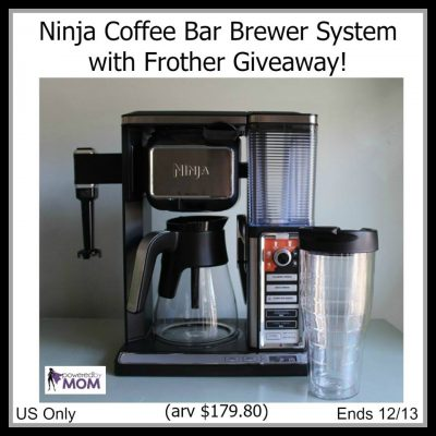 Ninja Coffee Bar Brewer System with Frother Giveaway!