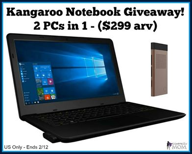 Enter to WIN a Kangaroo Notebook Open to US