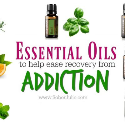 Essential Oils to Ease Recovery from Addiction
