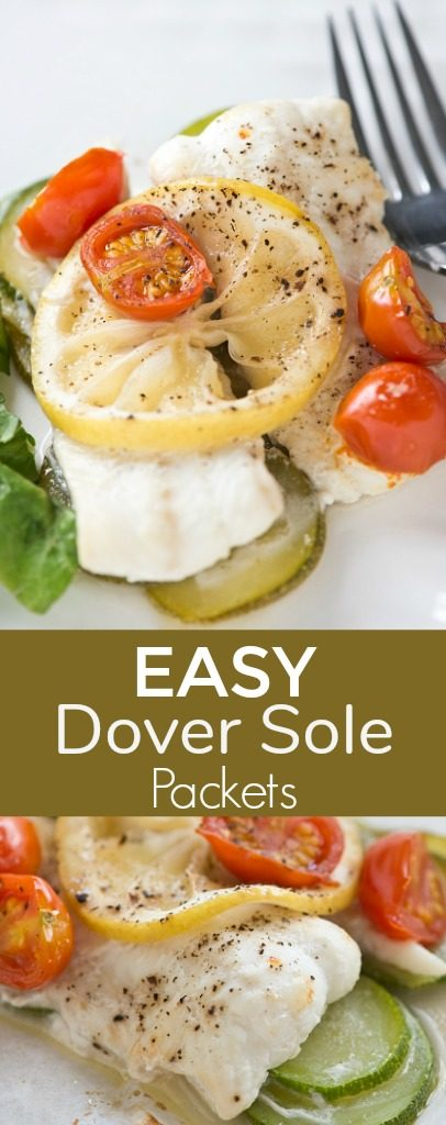 Easy dover sole fish packets sober julie for Sole fish recipes