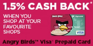 Angry Birds™ Visa® Prepaid Card - Holiday Gift Guide #SJHolidayGiftGuide