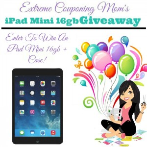 iPad Mini Giveaway Alert