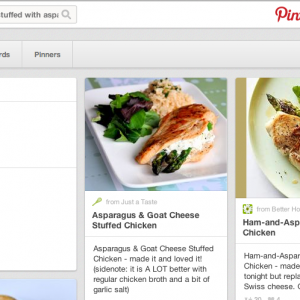 Introducing Pinterest Recipe Search
