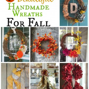 7 Beautiful Handmade Wreaths for Fall