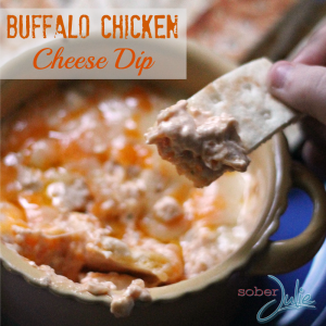 Buffalo Chicken Cheese Dip Recipe - #HolidayAppetizers
