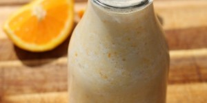 Orange Creamsicle Smoothie Recipe #GayLeaFoods