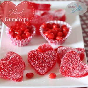Strawberry Gumdrop Hearts Recipe - A Valentine's Day Treat