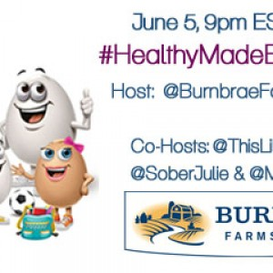 Calling all Egg lovers - join us for the #HealthyMadeEasy Twitter Party with @BurnbraeFarms