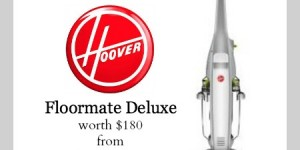 In Love with Hoover Floormate Deluxe - Enter to WIN One
