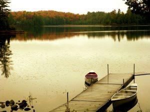 Autumn View in Muskoka