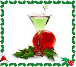 Beautiful Christmas Mocktail