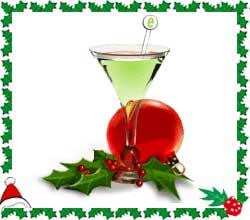 Beautiful Christmas Mocktail