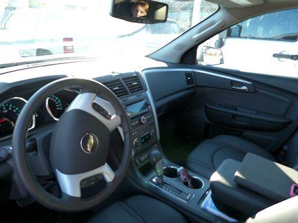 Traverse Front Seat