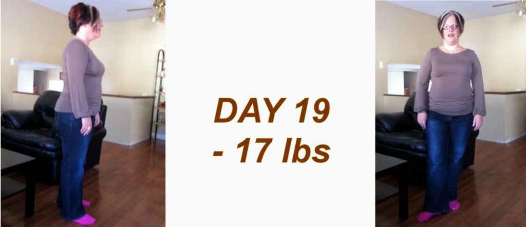Day 19 Weight Loss