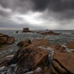 Storm on Rocks