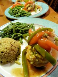 VH Sauce Chicken Stuffed with Broccoli and Cheese