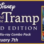 LADY AND THE TRAMP Diamond Edition Blu-ray Combo Pack