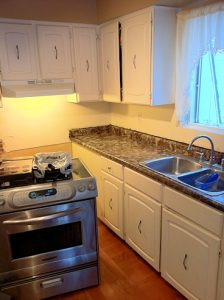 Kitchen counter remodel