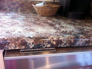 DIY kitchen counter