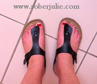 ae515632850a Say Goodbye Shoes-Viking Sandals Giveaway - Sober Julie Doing Life