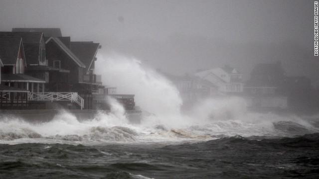 Hurricane Sandy Mass