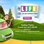 Game of Life – CAA Life-side Assistance Twitter Party #GameOfLife #CAASCO